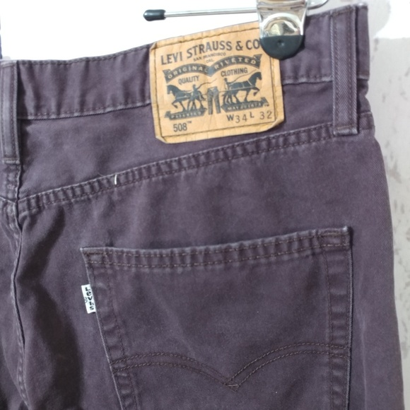 95b1a64fcca Levi's Jeans | Levis 508 Mens Colored Regular Taper Fit | Poshmark